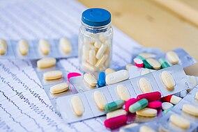 Verschiedene Antiepileptika