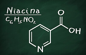 Formula chimica della niacina