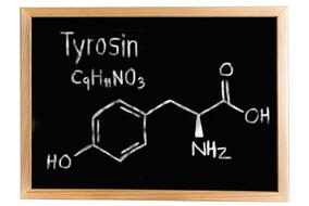 Chemische Formel für Tyrosin