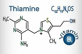 Formeldarstellung Thiamin