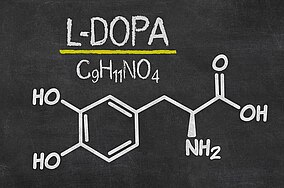 Chemische Formel für L-Dopa
