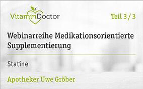 Medikationsorientierte Supplementierung: Statine