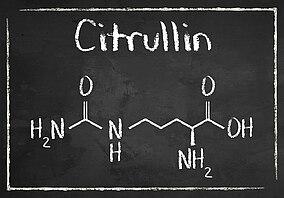 Die chemische Formel für Citrullin