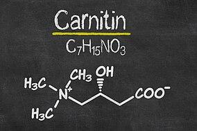 Chemische Formel für Carnitin
