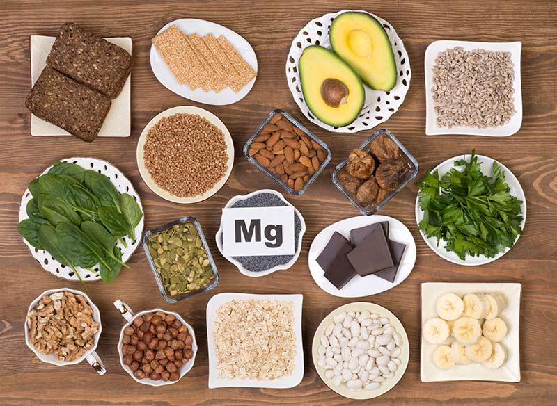 Lebensmittel die Magnesium beinhalten