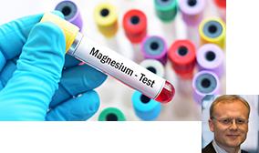 Magnesium-Test Probe