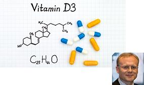 Chemische Formel von Vitamin D3