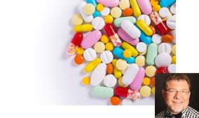 Verschiedene Kapseln und Pillen